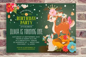 Enchanted forest birthday